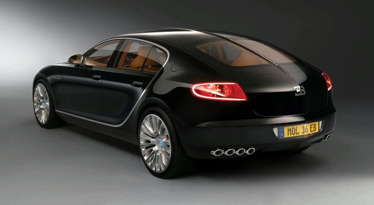 Четырехдверный Bugatti - это не «миф» 2