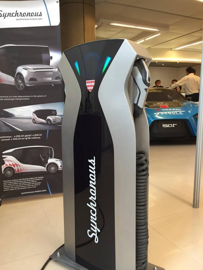 На международном форуме в Монако представлен украинский электрокар 5
