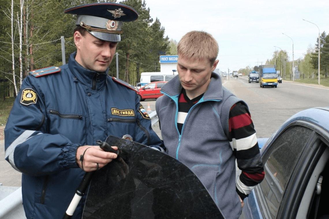 Крымским автовладельцам ужесточат наказание за тонированные стекла 1