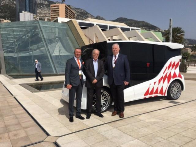 На международном форуме в Монако представлен украинский электрокар 1