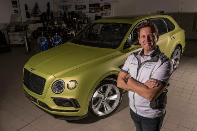 Bentley Bentayga будет покорять Пайкс Пик 1