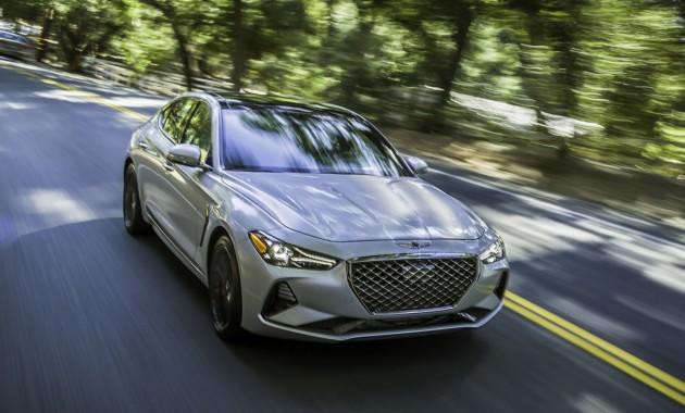 Genesis презентовал седан G70 с механической трансмиссией 1