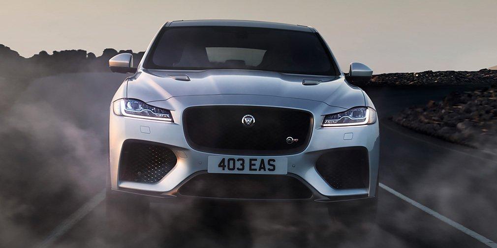 Jaguar представил мощную новинку 1