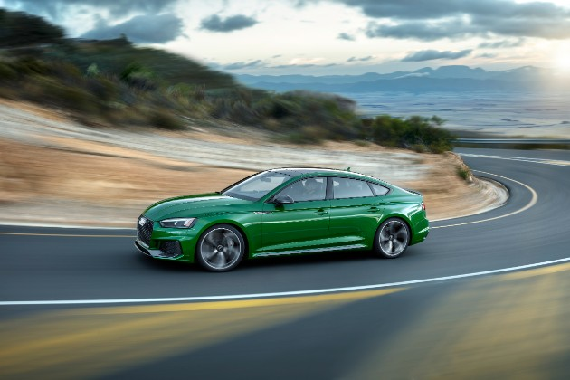 Компания Audi презентовала  пятидверное купе RS 5 Sportback 3