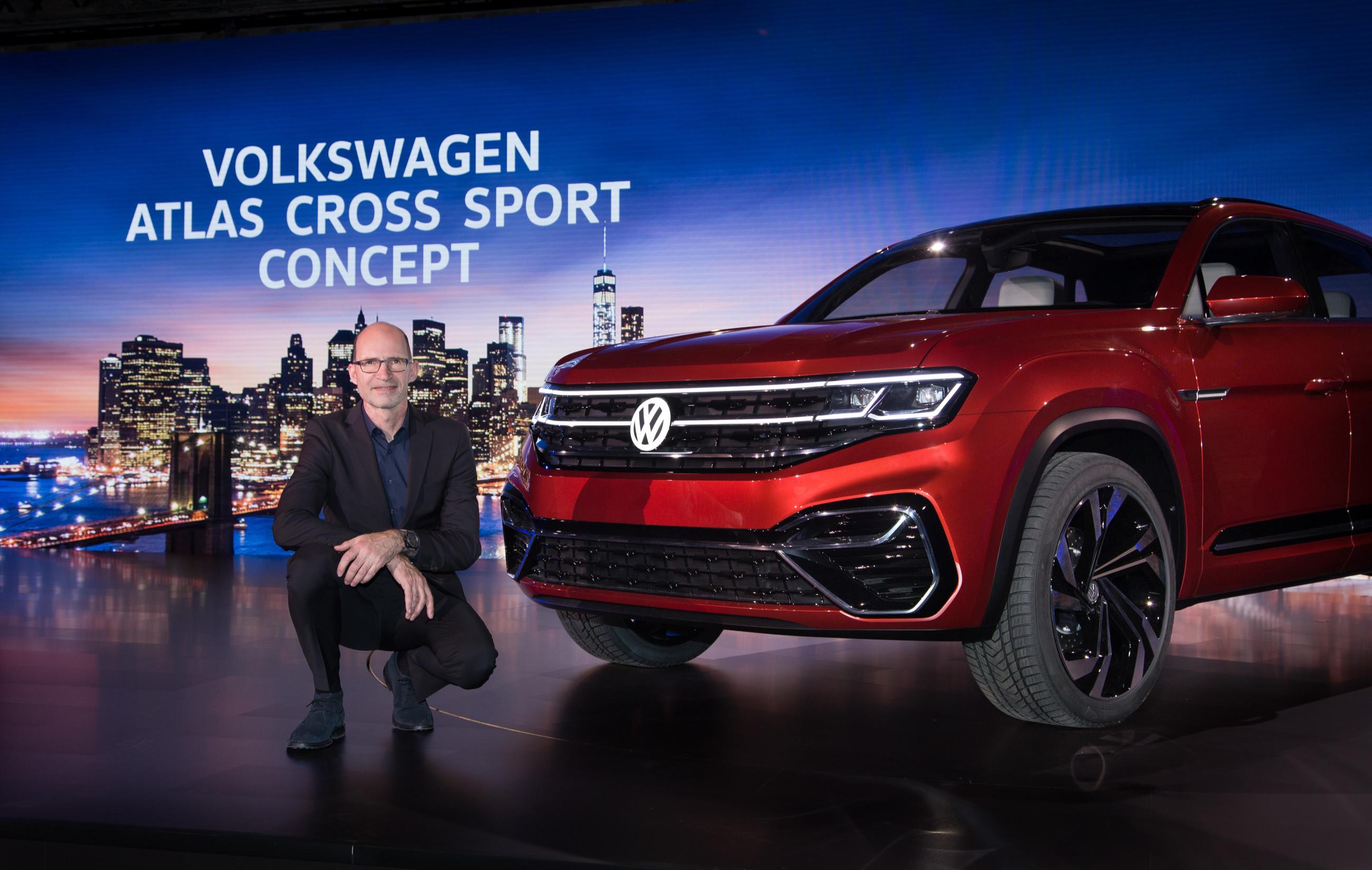 Volkswagen представил новый кроссовер 1