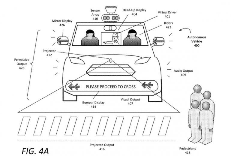 Беспилотные автомобили Uber начнут умышленно пугать пешеходов 1