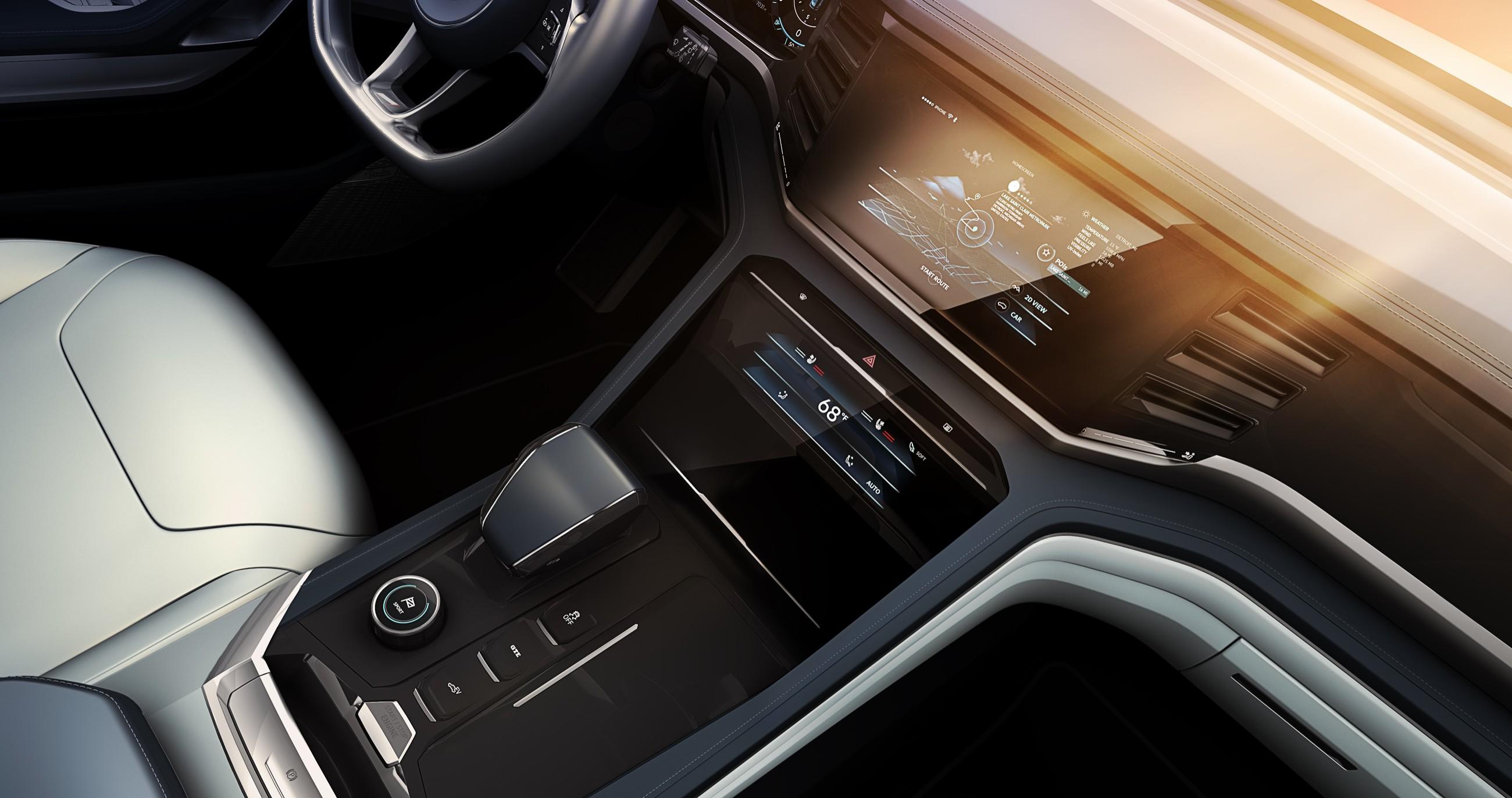 Volkswagen представил новый кроссовер 5