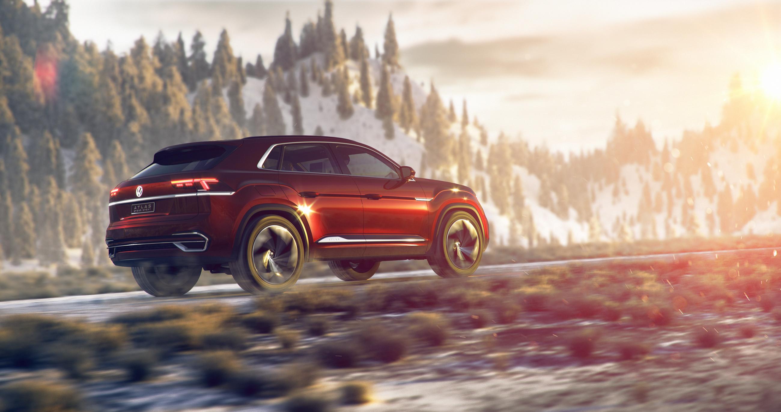 Volkswagen представил новый кроссовер 3