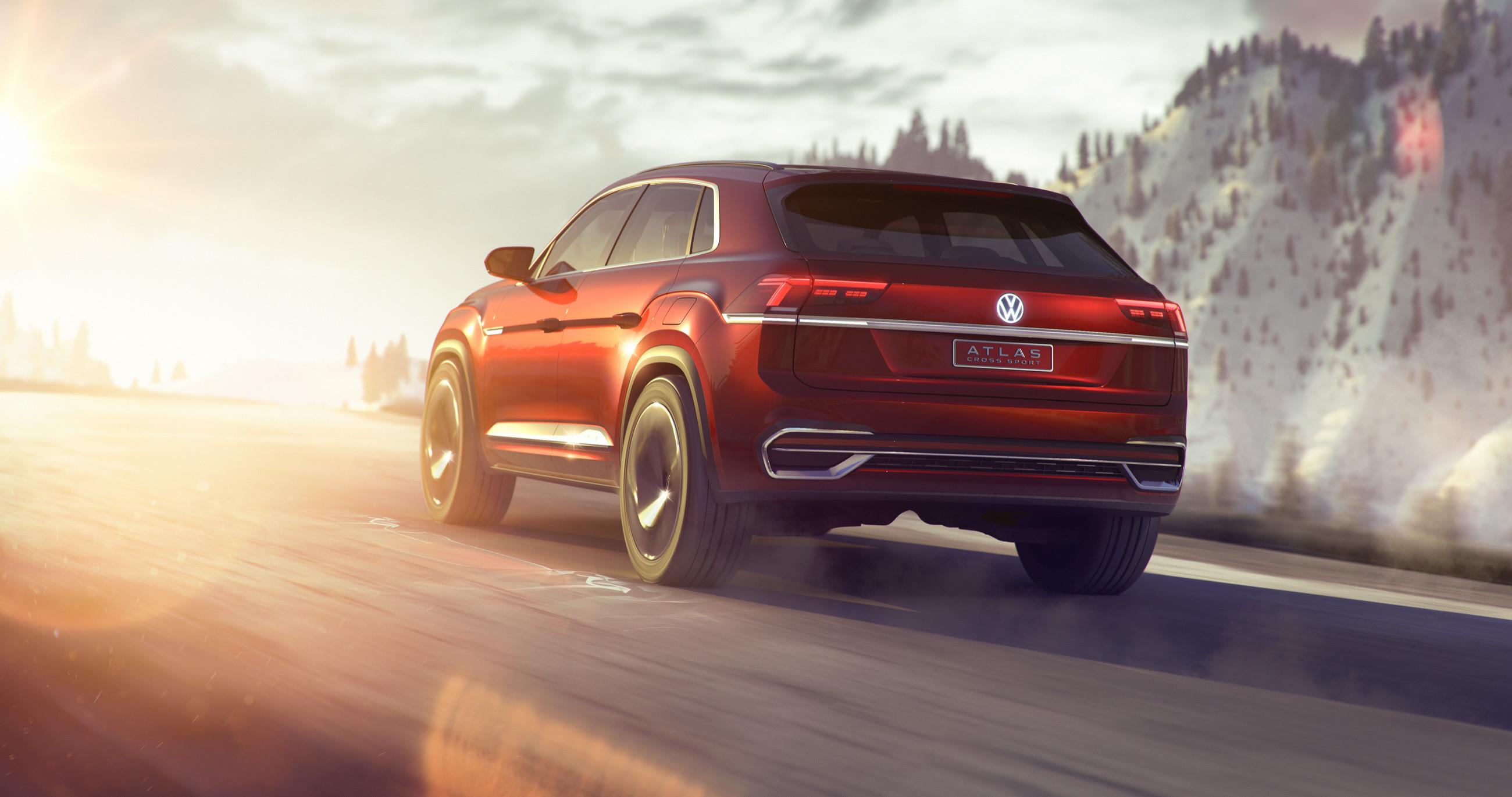 Volkswagen представил новый кроссовер 2