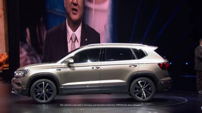 Volkswagen презентовал не только новый «Туарег» 2