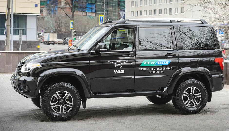 УАЗ выпустит «газовую» версию внедорожника Patriot 2