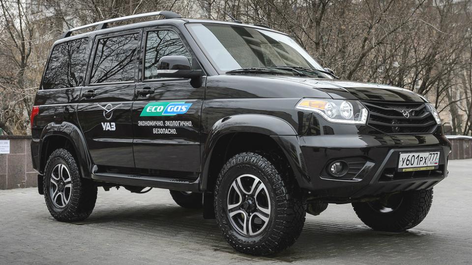 УАЗ выпустит «газовую» версию внедорожника Patriot 1