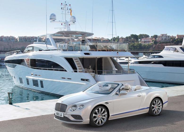 Компания Bentley построила «яхтомобиль» 3