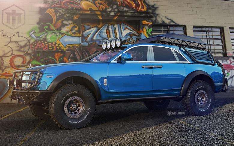 Дизайнеры превратили Rolls-Royce в брутальный внедорожник 1