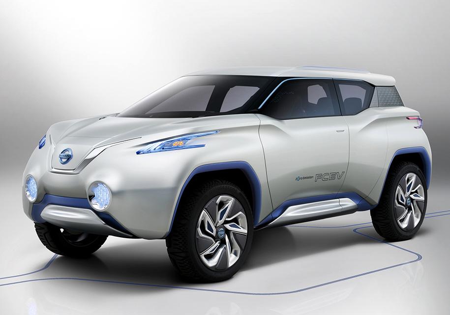 Электрокар Nissan Leaf преобразится в кроссовер 1