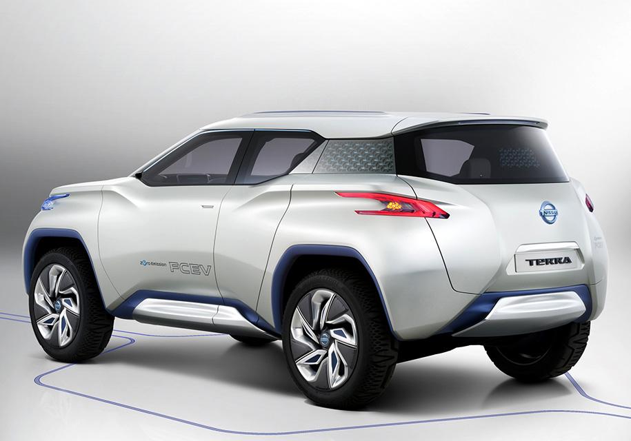 Электрокар Nissan Leaf преобразится в кроссовер 2