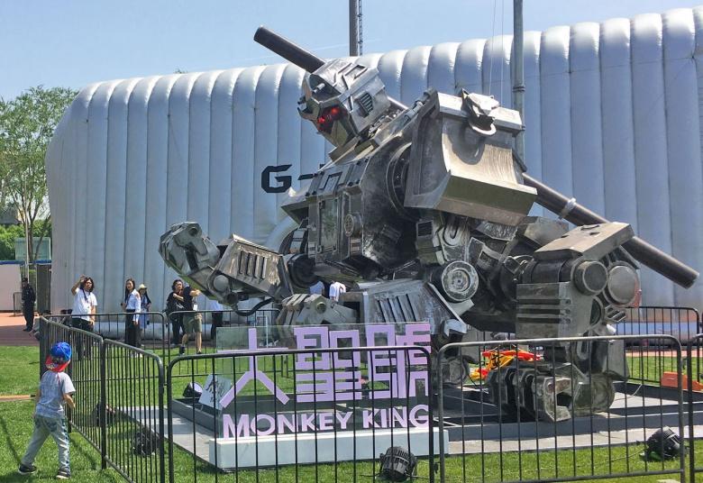 США представили своего участника «битвы роботов» 2