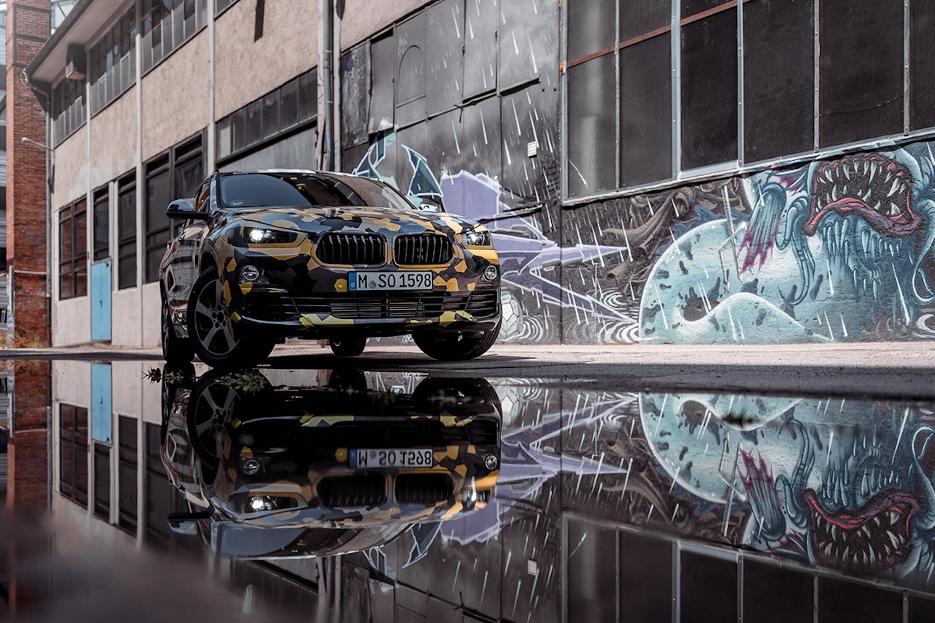BMW впервые показала фотографии кроссовера X2 2