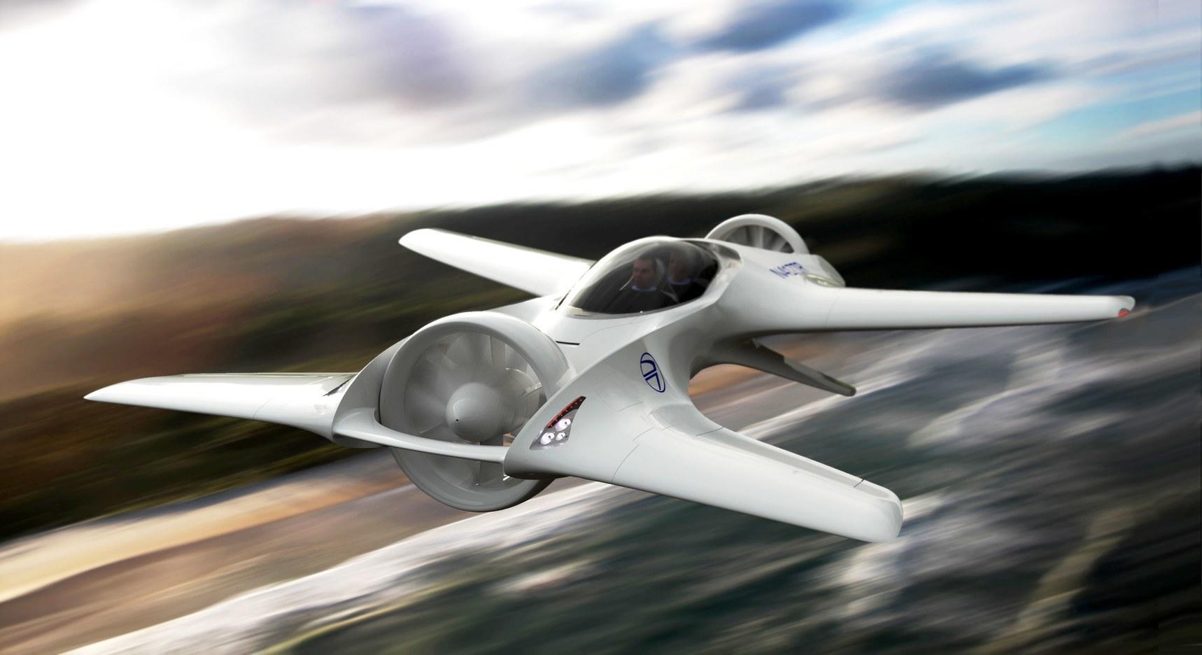 В США сделают летающий автомобиль DeLorean 1
