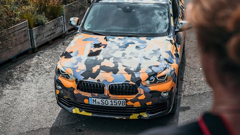 Тестовый прототип BMW «одели» в «боевой» камуфляж 1