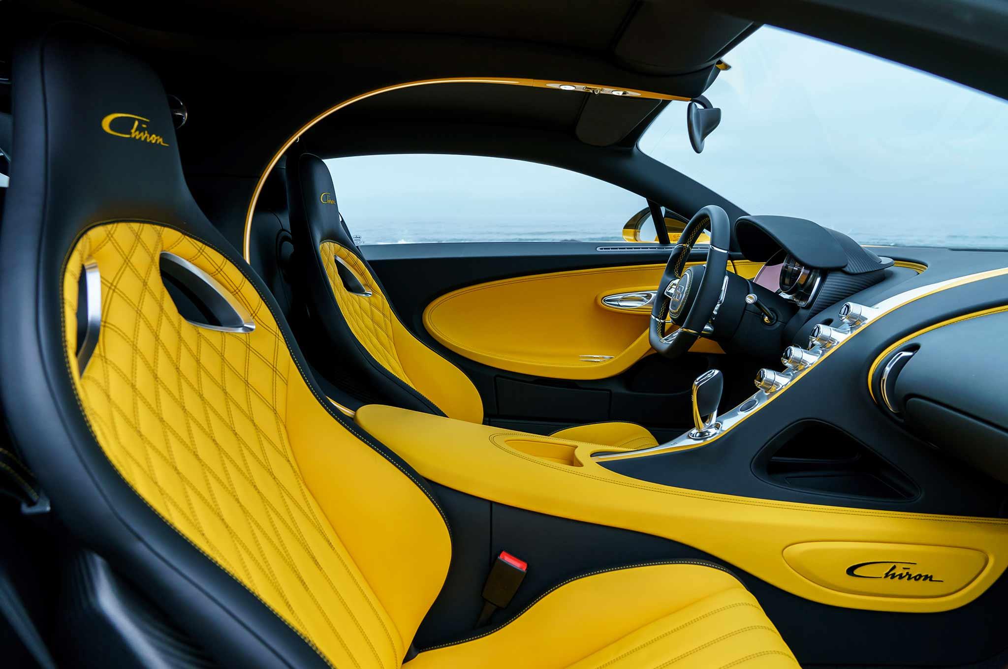 Первый Bugatti Chiron отправился к покупателю в Америку 2