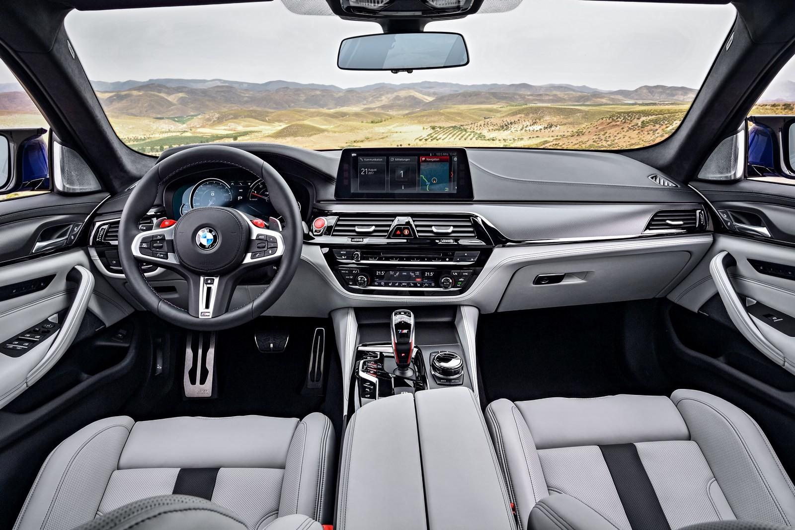 5 главных фактов о новой BMW M5 6