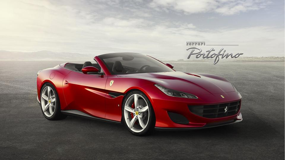Компания Ferrari презентовала новую модель Portofino 2