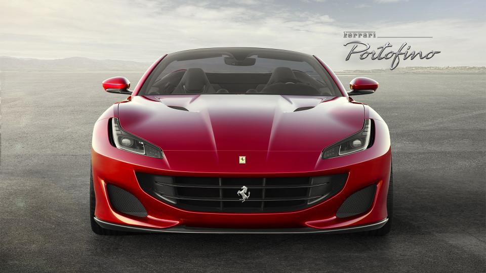 Компания Ferrari презентовала новую модель Portofino 1