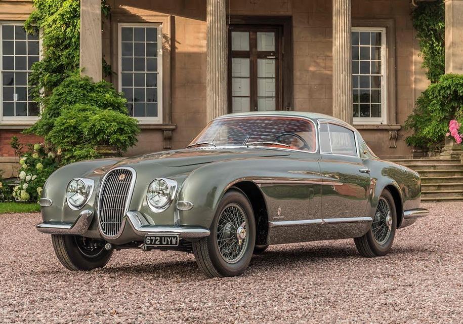 Публике показали самый редкий в мире Jaguar 1