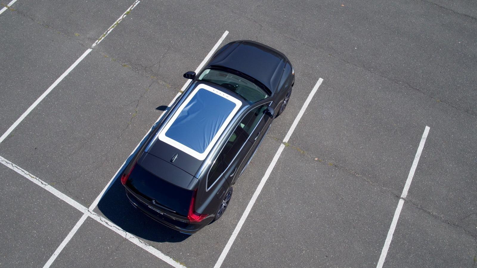 Кроссовер Volvo приспособили для просмотра солнечного затмения 1