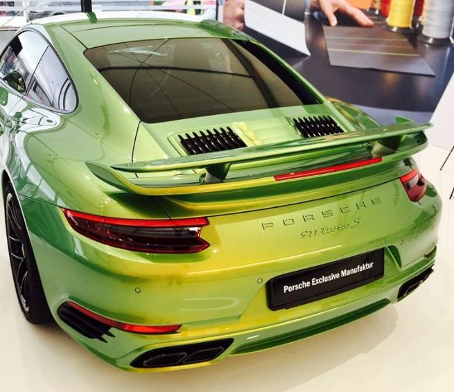 Необычный окрас Porsche оценили в 100 тысяч долларов 1