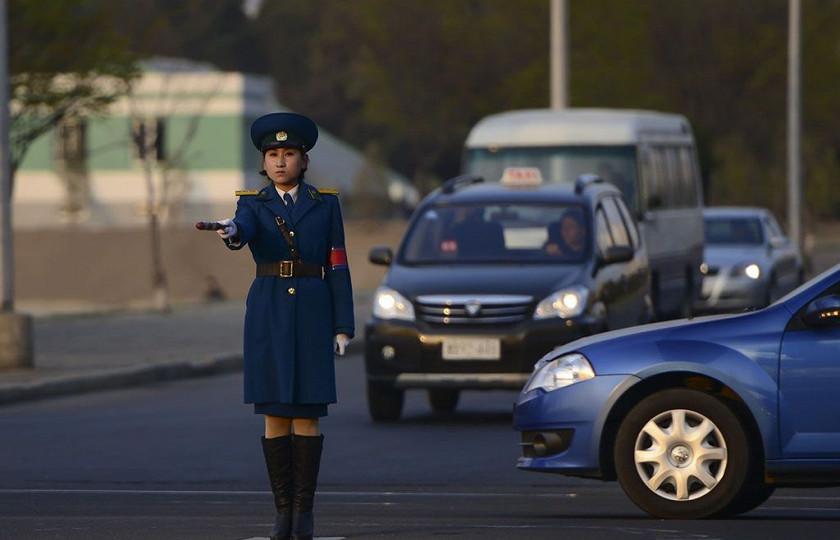 На каких автомобилях ездят в КНДР 1