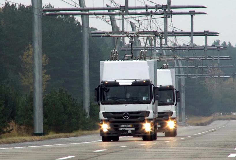 Немцы «превратят» грузовики в троллейбусы 1