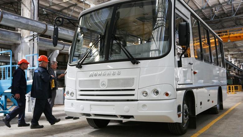 В «ДНР» начали производить «самопровозглашенные» автобусы 1