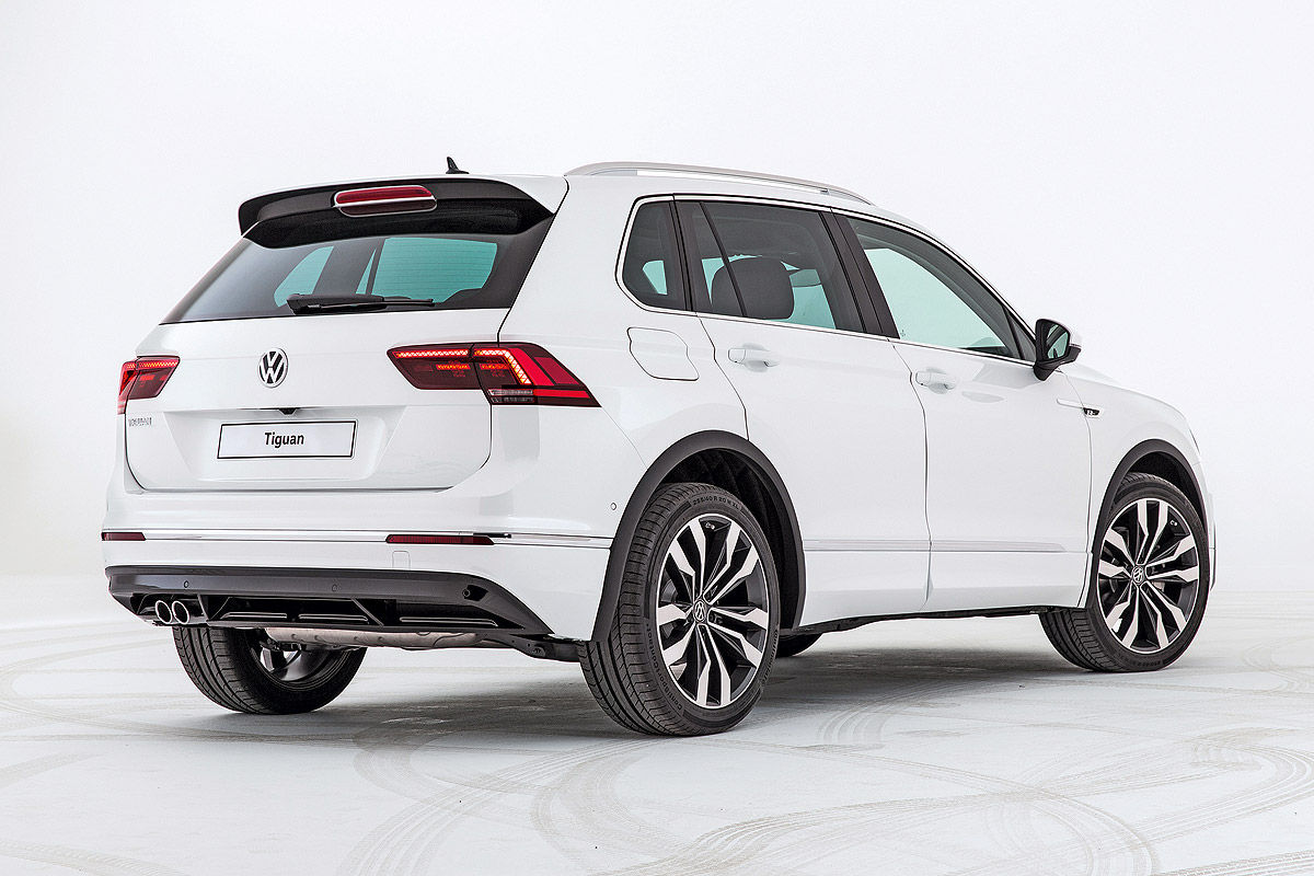 «Мальчик растет»: тест-драйв нового VW Tiguan Allspace 4