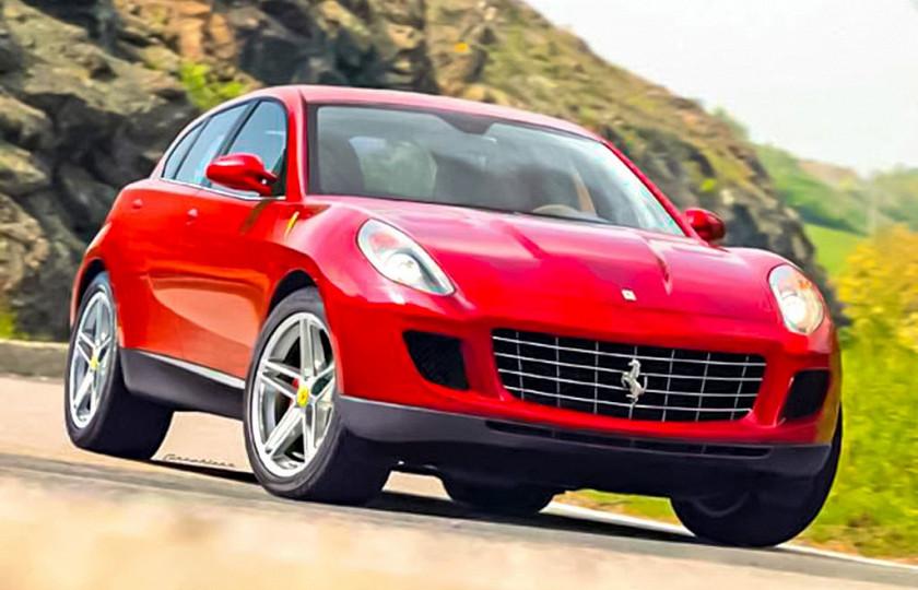 Внедорожник Ferrari – вымысел или реальность? 1