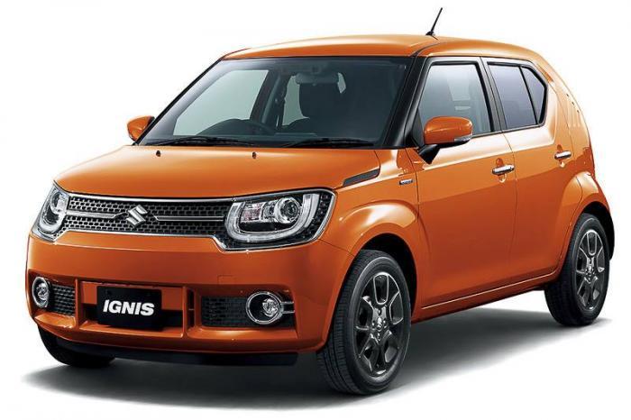 Официальные фото Suzuki Ignis 1