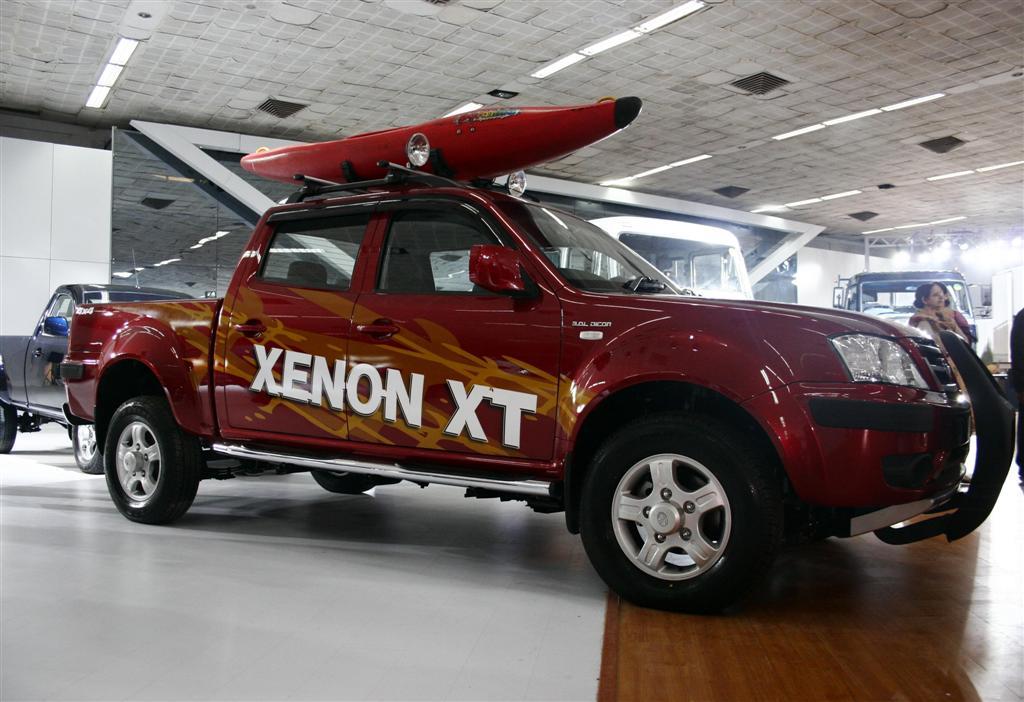 Tata обновит пикап Xenon XT 1