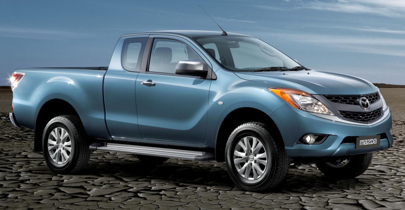 Isuzu построит новый пикап для Mazda 2