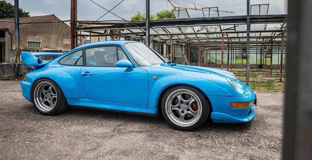 Уникальный Porsche ушел с молотка за 2,4 млн долларов 1