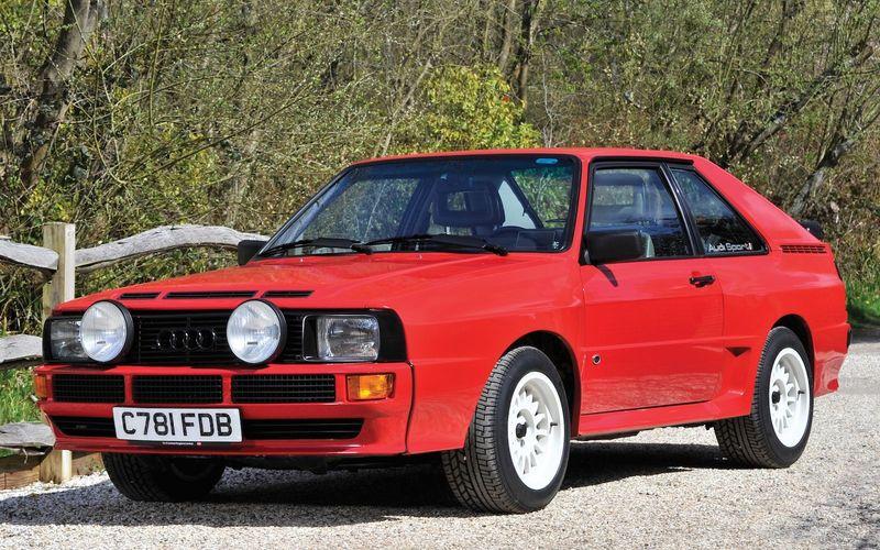 Легендарный Audi quattro продан за «бешеные деньги» 1