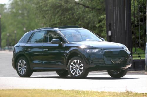 Audi мастерски скрывает дизайн своего Q5 2017 3