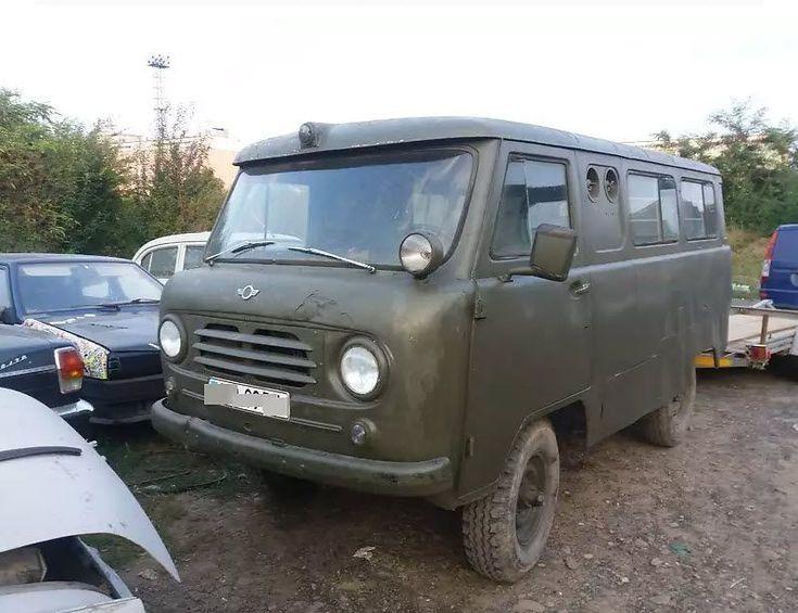 В Украине продается раритетная Буханка - УАЗ-450А  1