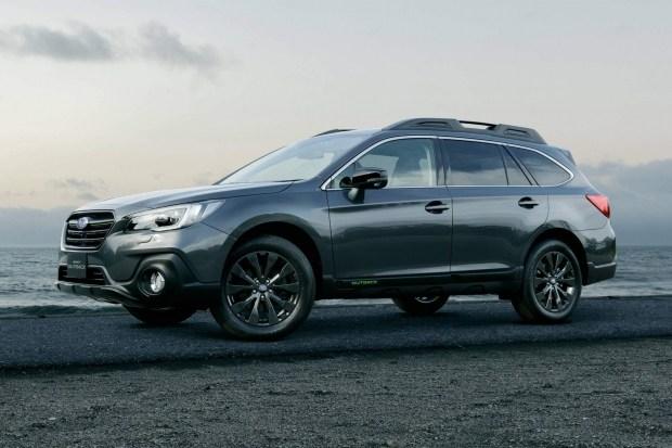 Subaru выпустила специальный Outback к 60-летию марки 2