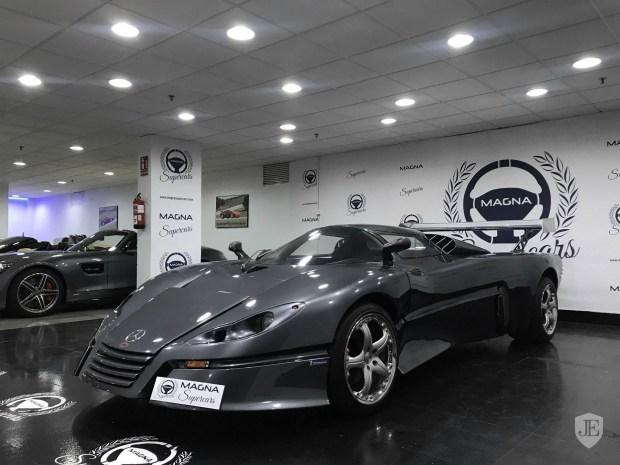 На продажу выставили единственный экземпляр прототипа Sbarro Espace GT1 1