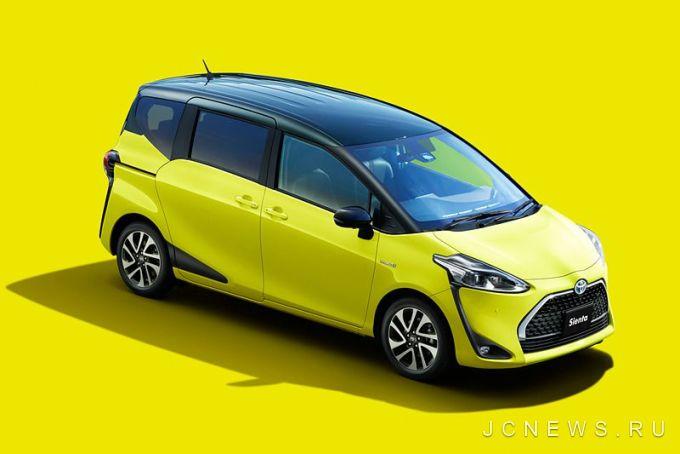 Toyota обновила микровэн Sienta 1