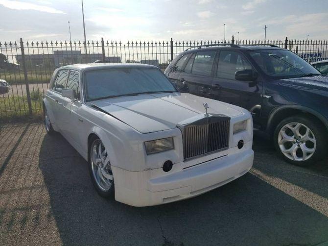 Как выглядит самая странная копия Rolls-Royce Phantom 1