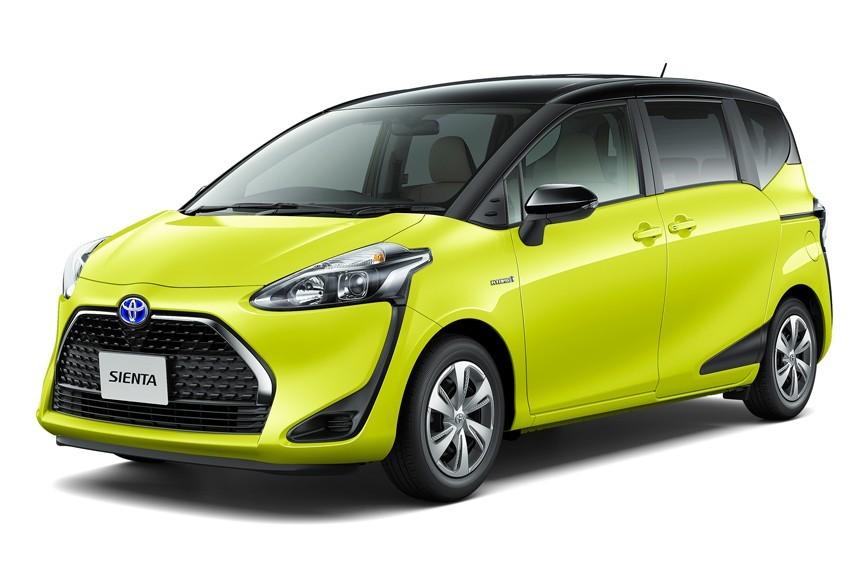 Toyota обновила микровэн Sienta 2