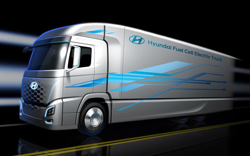 Volvo и Hyundai показали грузовики будущего 4
