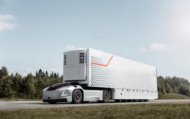 Volvo и Hyundai показали грузовики будущего 1